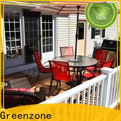 Greenzone 14023mm wpc wood plastic composite hollow shopping mall