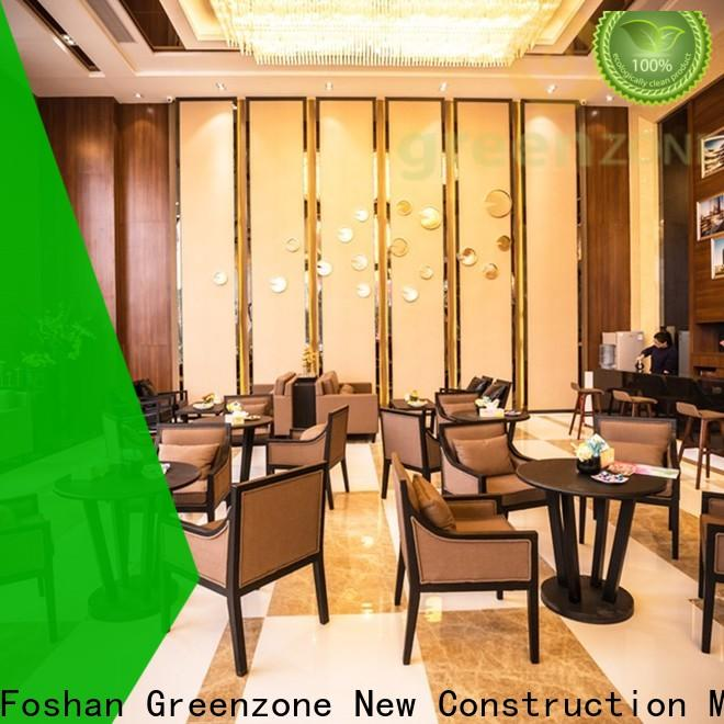 Greenzone Breathable modern wood wall paneling manufacturer indoor