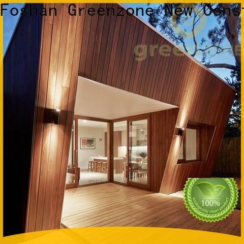 Greenzone cladding plastic wood cladding manufacturer house
