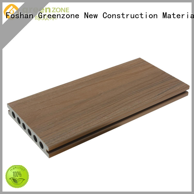 Greenzone coextrusion alternatives to wooden decking terrace dining house